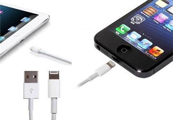 כבל הטענה USB לאייפוןולמכשירי אפל בעלי חיבור Lightningב14 ...