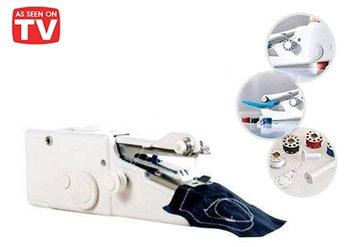 לתפירה מושלמת! מכונת תפירה חשמלית Handy Stitch נוחה וקלה לשימוש ב58 ש