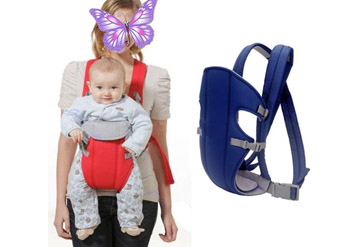 הדרך הנוחה לשאת את תינוקך! ידיים פנויות ותינוקבטוח ושמח! מנשא לתינוק המאפשר גם הנקהב89 ש