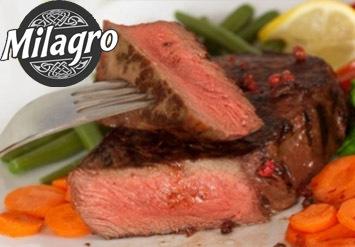 ארוחה זוגית במסעדת מילגרו בחיפה הצופהעל גניהבאהייםהכוללת ...
