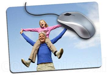 משטח / פד לעכבר בעיצוב אישי הכולל הדפסת תמונה אישיתוהק...