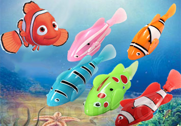 בואו ליצור אקווריום אלמוות! הדג שיחיה לנצח! דג רובוטי במבחר צבעים שמופעל ע