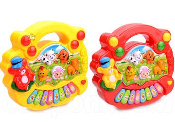 חוות חיות מוזיקלית מנגנת- צעצוע התפתחותי מצוין לילד ב69 ש
