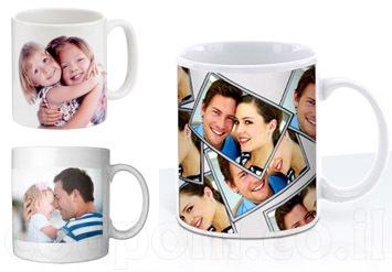 כוס/ ספלאיכותיבעיצוב אישיובהדפסה של תמונה לבחירה + הקדשה...