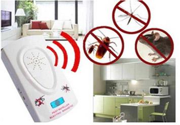 מיוחד לקיץ! מתקן מרחיק יתושים, חרקים ומטרידים באמצעות טכנולו...