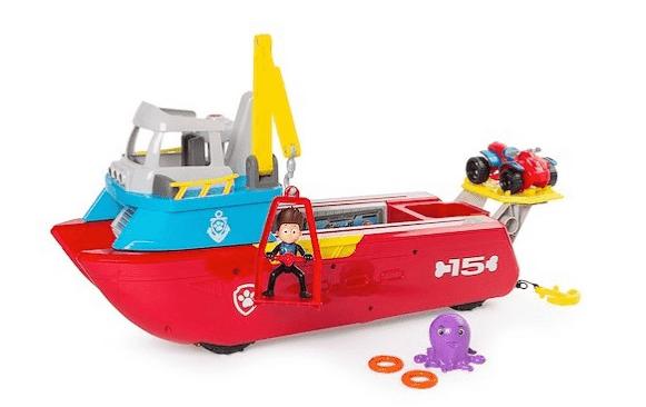 סירת החילוץ / הצלה של מפרץ ההרפתקאות - יחידת החילוץ! ב329 ש