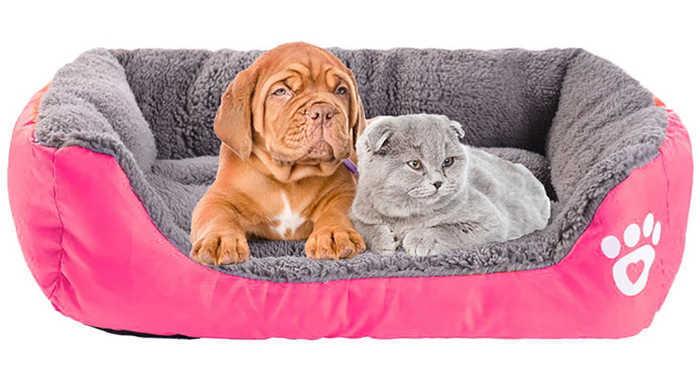 מיטה רכה, איכותית ומפנקת לכלב או לחתול במבחר גדלים וצבעים החל מ59 ש