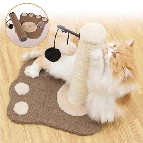 עמוד גירוד לחתול שיאפשרו לו לשחק ולשייף את הציפורניים ב129 ש