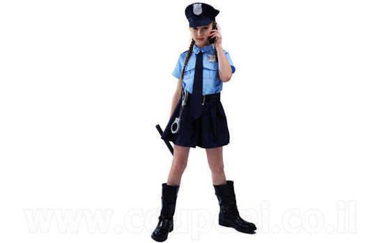תחפושת שוטרת לילדות ב129 ש
