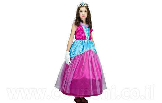תחפושת נסיכה לילדות ב139 ש