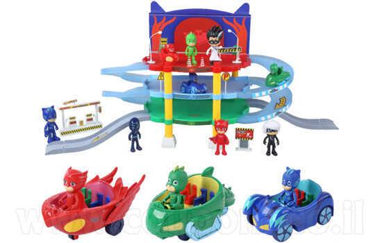 תחנת חנייה מפקדה של כוח פיג'יי + 3 בובות ברכבים ב189 ש