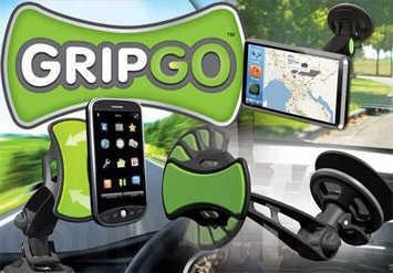 המעמד האוניברסלי והמהפכניGripGo לרכב לפלאפונים, GPS וכדומה,עם הראש המסתובב 360 מעלות ב29 ש