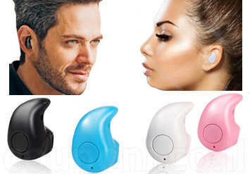 דיבורית / אוזניית Bluetooth קטנה, איכותית ומדליקה! נוחה מאד לשימוש ומתאימה גם לקסדה ולרוכבים, לסלולרי, לנגנים, לספורטוכו' ב49 ש