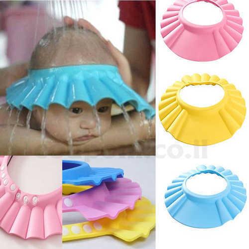 כובע מקלחת לתינוק לרחצה ללא דאגות, ...