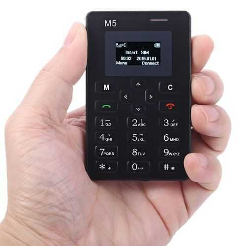טלפון סלולרי בגודל כרטיס אשראי! נכנס לארנק, מגניב ונוח מאד ל...