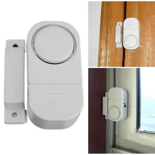 אזעקה אלחוטית מגנטית לדלת / חלון עם חיישן מובנה לזיהוי פתיחה, להגנה מפני פריצות ב19 ש