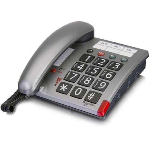 טלפון מוגבר לשימוש מבוגרים וכבדי שמיעה, לחצנים גדולים, כפתור SOS, איכותי ונוח לשימוש ב299 ש