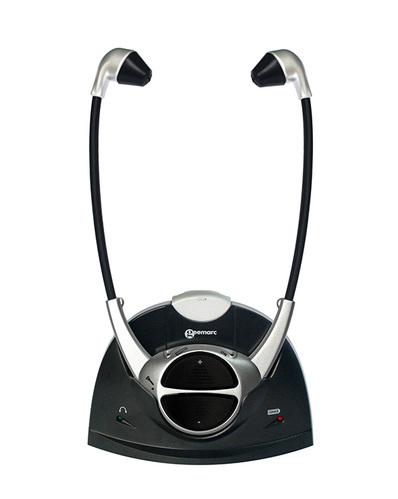אוזניות אלחוטיות המאפשרות לכם לשמוע טלוויזיה באופן ברור ובעו...