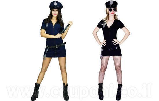 תחפושת שוטרת לנשים ב129 ש
