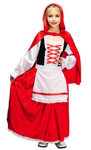 תחפושת כיפה אדומה לילדות ב139 ש