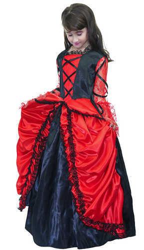 תחפושת נסיכה ספרדייה לילדות ב139 ש