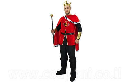 תחפושת מלך מימי הביניים למבוגרים ב159 ש