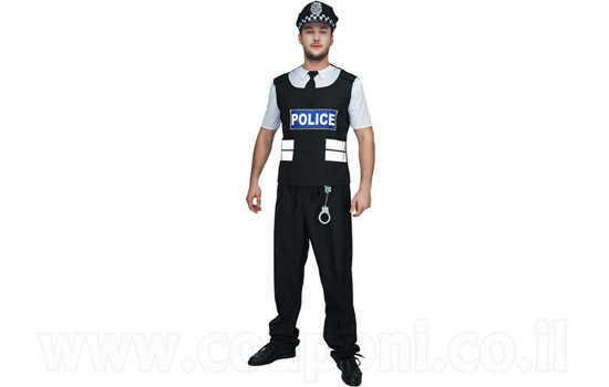 תחפושת שוטר למבוגרים ב129 ש