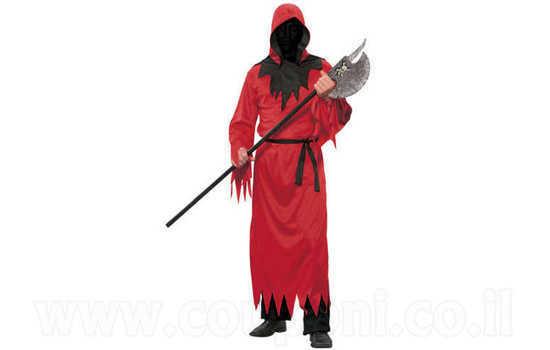 תחפושת שד / מלאך המוות אדום למבוגרים ב129 ש