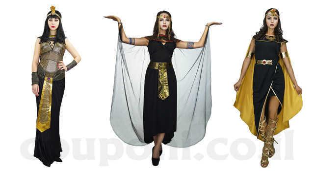 תחפושת קלאופטרה מלכת מצרים למבוגרים...
